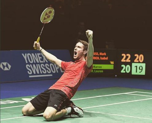 Foto Mark Lamsfuß 495x400 - train/live/perform/ - Der Performance Podcast #5: Interview mit Badmintonprofi Mark Lamsfuß